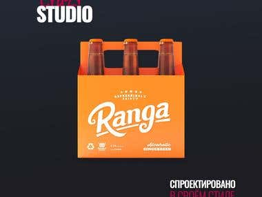 Corporate identity element for Ranga.