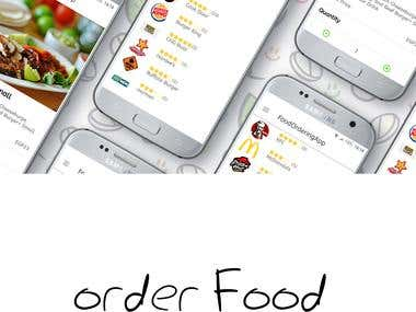 Order Food Android App