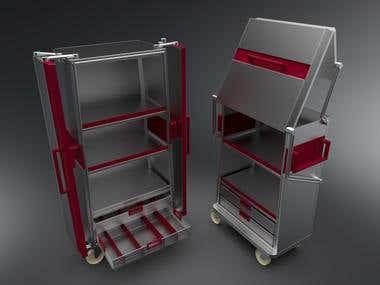 Endo case cart