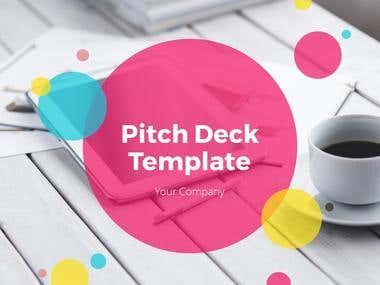 Pitch Deck Template - Slidegraph
