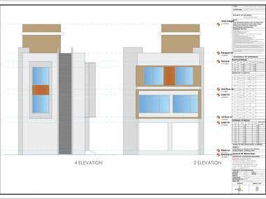 working Drawings for architectural projects