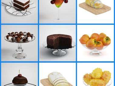 food render