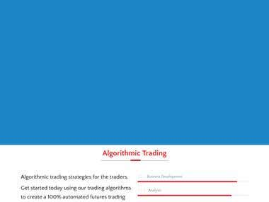 Trading Website PHP
