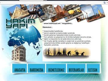 Hakim Yapı internet sitesi