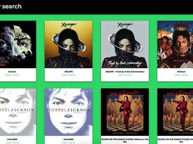Spotify Search Engine