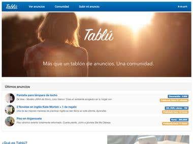 Tablú - Your company's marketplace