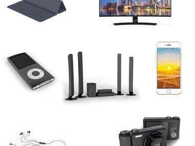 electronics render