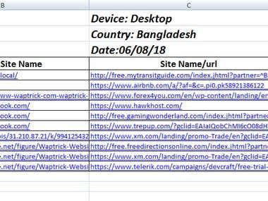 Data Entry Sample File