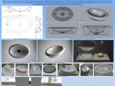 Design and Production of sink