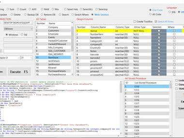 Code Builder SQL SERVER -Access- .NET- C#