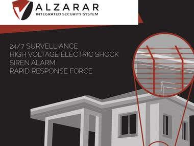 Pamphlet designed for Alzarar