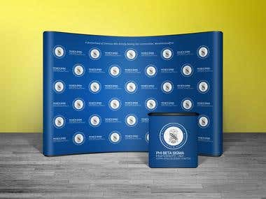 Backdrop / Step & Repeat Banner Design