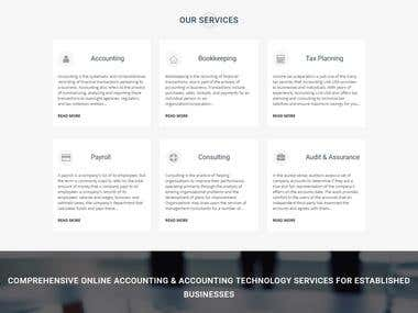Accounting & Bookkeeping Website
