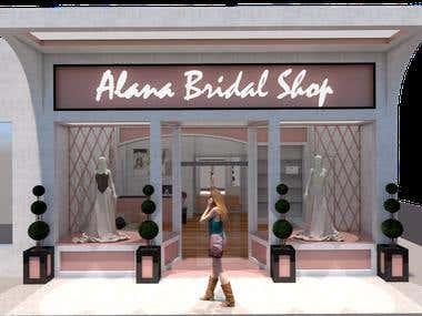 DESIGN PROJECT OF NOVIAS DRESS SHOP