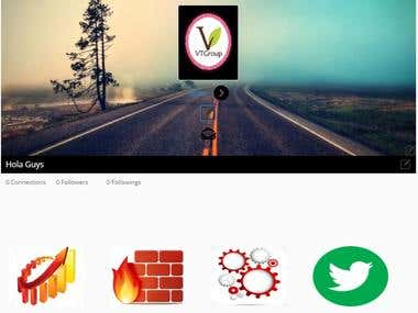 "Wordpress Plugin ""Wallable – Social Networking Plugin"""