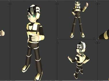 Selfmade 3D Animation Models