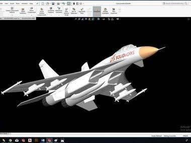 3D design in Solidworks