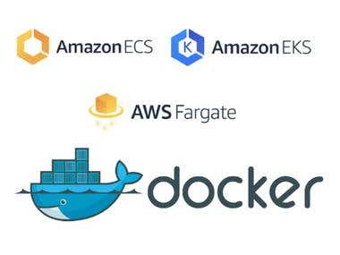 A Docker Micro-Server in Python Deployed at AWS ECS/EKS
