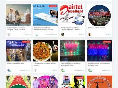 Market Place Website+ Ecomerce multivendor