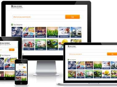 Online product selling website