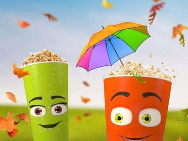 Cinema 4D + Photoshop