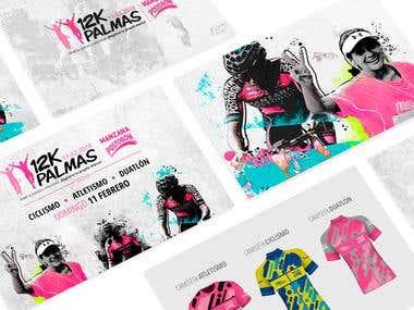Event Branding 12K Palmas 2018
