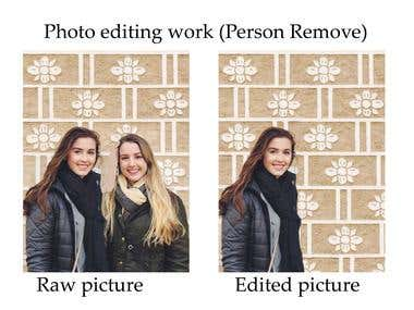 Picture Editing Work
