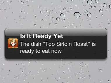 Is It Ready Yet App (iPhone)