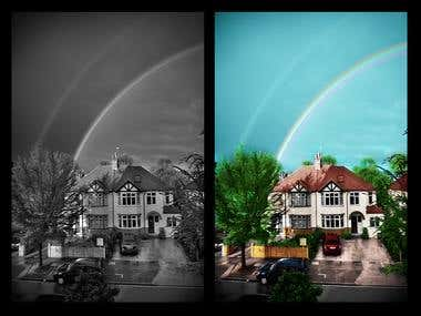 """Photo Editing """"Before & After""""/ Photoshop / Illustrator"""