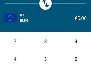 Currency Converter app for Android and Windows 10