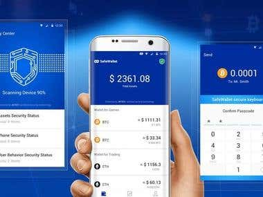 Cryptocurrency Mobile Wallet App ( Android / IOS )