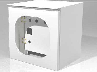 Sheetmetal Box For Control Panel