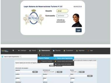 Sistema de reservaciones, Booking System