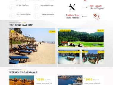Travel Website And Lead,invoice management CRm
