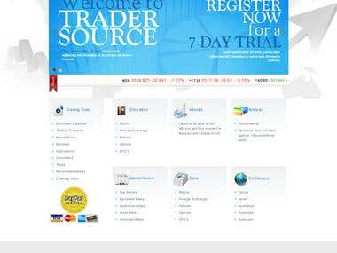 Online Treading Website