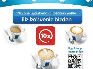 Lavazza Coffee flyer