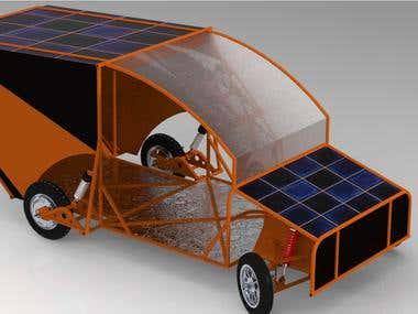 Design of Solarvehical