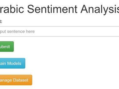 Arabic Sentiment Analysis