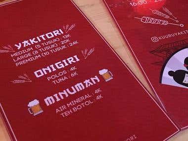 Brand Design - Kuuru Yakitori