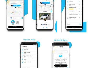App Like Uber (Android, IOS)