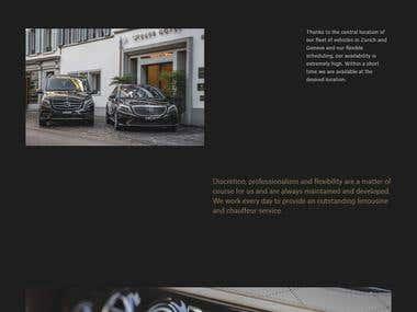 Dursun Limousine (Personal Driver service website)