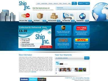 Shipping website - API integration Fedex DHL UPS