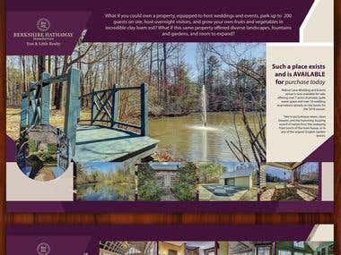 Design A Real Estate Property Marketing Brochure