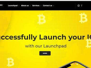Cryptocurrency website / https://www.snapactive.io/