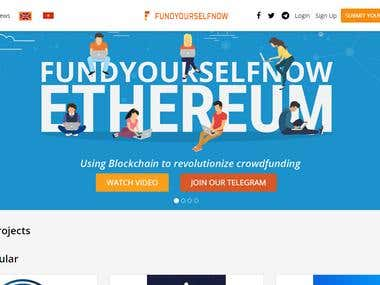 Cryptocurrency Blockchain website/ https://www.fundyourselfn