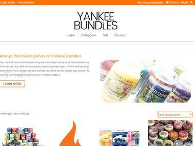 Wordpress based Ecommerce website (Woocommerce)