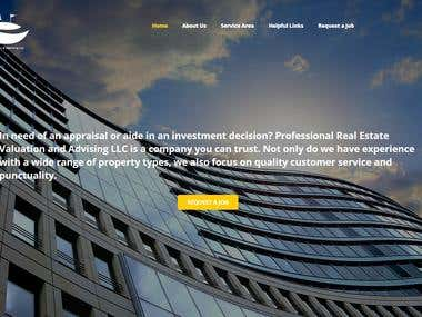wordpress Real estate Investment based website