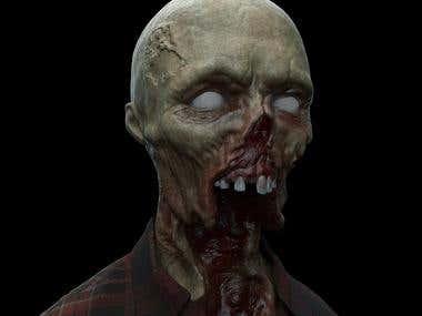 Concept Desing zombie