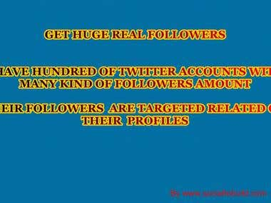 Sell Some of Existing Twitter Accounts