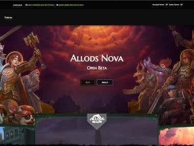Allods Nova - Game Portal